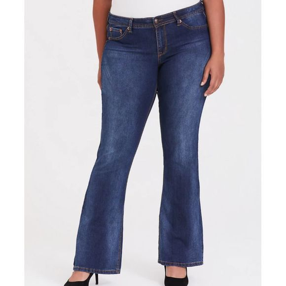 torrid Denim - TORRID Source of Wisdom Isabella Lt Wash Jean 14S